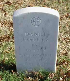 PAVELICK (VETERAN WWII), DANIEL - Pulaski County, Arkansas | DANIEL PAVELICK (VETERAN WWII) - Arkansas Gravestone Photos