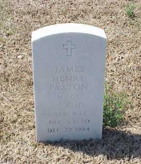PAXTON (VETERAN WWII), JAMES HENRY - Pulaski County, Arkansas | JAMES HENRY PAXTON (VETERAN WWII) - Arkansas Gravestone Photos