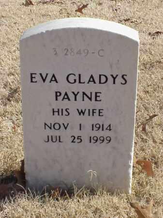 PAYNE, EVA GLADYS - Pulaski County, Arkansas | EVA GLADYS PAYNE - Arkansas Gravestone Photos