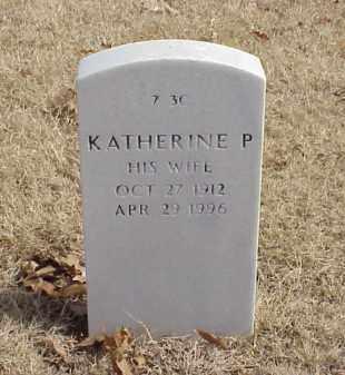 PAYNE, KATHERINE P - Pulaski County, Arkansas | KATHERINE P PAYNE - Arkansas Gravestone Photos