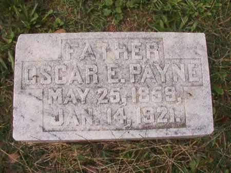 PAYNE, OSCAR E - Pulaski County, Arkansas | OSCAR E PAYNE - Arkansas Gravestone Photos