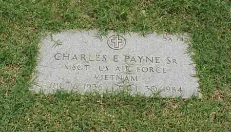 PAYNE, SR (VETERAN VIET), CHARLES E - Pulaski County, Arkansas | CHARLES E PAYNE, SR (VETERAN VIET) - Arkansas Gravestone Photos