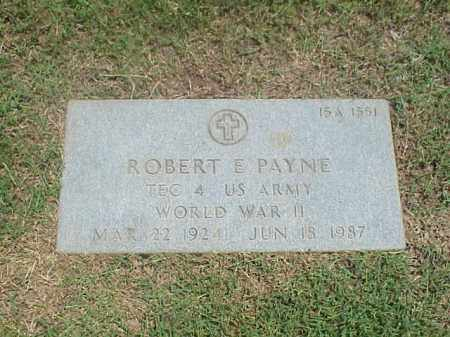 PAYNE (VETERAN WWII), ROBERT E - Pulaski County, Arkansas | ROBERT E PAYNE (VETERAN WWII) - Arkansas Gravestone Photos