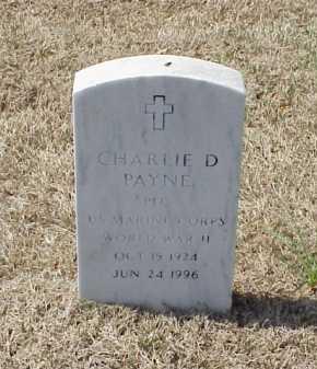 PAYNE (VETERAN WWII), CHARLIE D - Pulaski County, Arkansas | CHARLIE D PAYNE (VETERAN WWII) - Arkansas Gravestone Photos