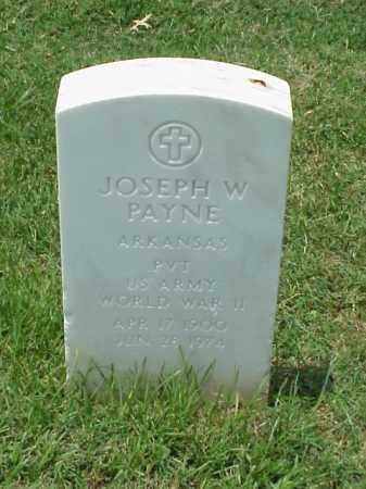 PAYNE (VETERAN WWII), JOSEPH W - Pulaski County, Arkansas | JOSEPH W PAYNE (VETERAN WWII) - Arkansas Gravestone Photos