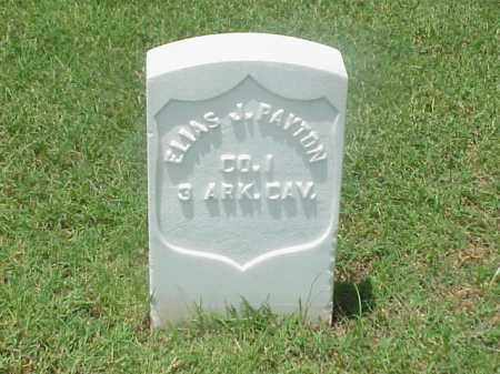 PAYTON (VETERAN UNION), ELIAS J - Pulaski County, Arkansas | ELIAS J PAYTON (VETERAN UNION) - Arkansas Gravestone Photos