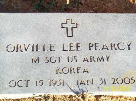 PEARCY  (VETERAN KOR), ORVILLE LEE - Pulaski County, Arkansas | ORVILLE LEE PEARCY  (VETERAN KOR) - Arkansas Gravestone Photos