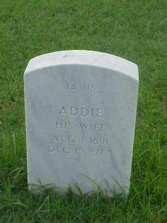PEARDOWN, ADDIE - Pulaski County, Arkansas | ADDIE PEARDOWN - Arkansas Gravestone Photos