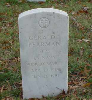 PEARMAN (VETERAN WWII), GERALD I - Pulaski County, Arkansas | GERALD I PEARMAN (VETERAN WWII) - Arkansas Gravestone Photos