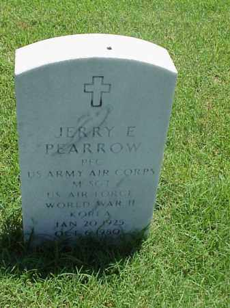 PEARROW (VETERAN 2 WARS), JERRY E - Pulaski County, Arkansas | JERRY E PEARROW (VETERAN 2 WARS) - Arkansas Gravestone Photos