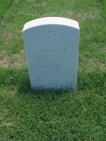 PEARSON, CAROL Y - Pulaski County, Arkansas | CAROL Y PEARSON - Arkansas Gravestone Photos