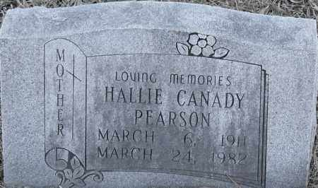 PEARSON, HALLIE - Pulaski County, Arkansas | HALLIE PEARSON - Arkansas Gravestone Photos