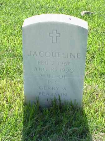 PEARSON, JACQUELINE - Pulaski County, Arkansas | JACQUELINE PEARSON - Arkansas Gravestone Photos