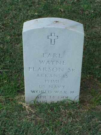 PEARSON, SR (VETERAN WWII), EARL WAYNE - Pulaski County, Arkansas | EARL WAYNE PEARSON, SR (VETERAN WWII) - Arkansas Gravestone Photos