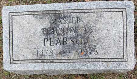 PEARSON, TIMOTHY D - Pulaski County, Arkansas | TIMOTHY D PEARSON - Arkansas Gravestone Photos