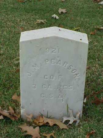 PEARSON (VETERAN CSA), J M - Pulaski County, Arkansas | J M PEARSON (VETERAN CSA) - Arkansas Gravestone Photos