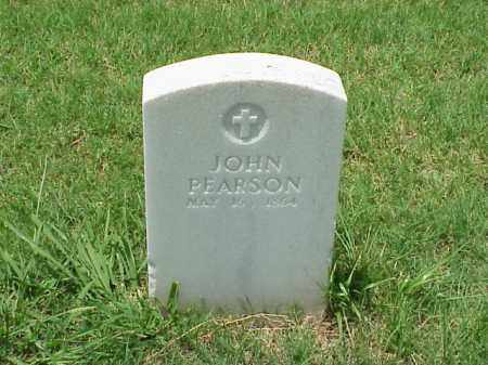 PEARSON (VETERAN UNION), JOHN - Pulaski County, Arkansas | JOHN PEARSON (VETERAN UNION) - Arkansas Gravestone Photos