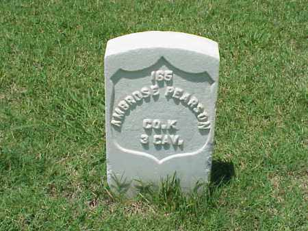 PEARSON (VETERAN UNION), AMBROSE - Pulaski County, Arkansas | AMBROSE PEARSON (VETERAN UNION) - Arkansas Gravestone Photos