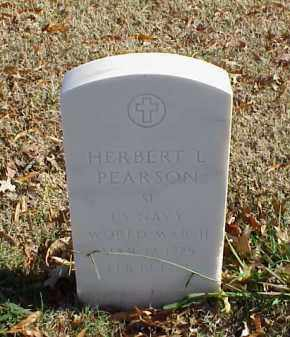 PEARSON (VETERAN WWII), HERBERT L - Pulaski County, Arkansas | HERBERT L PEARSON (VETERAN WWII) - Arkansas Gravestone Photos
