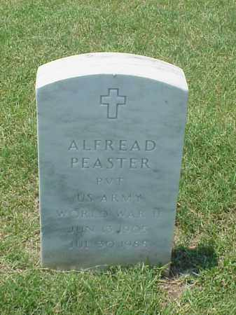 PEASTER (VETERAN WWII), ALFREAD - Pulaski County, Arkansas | ALFREAD PEASTER (VETERAN WWII) - Arkansas Gravestone Photos