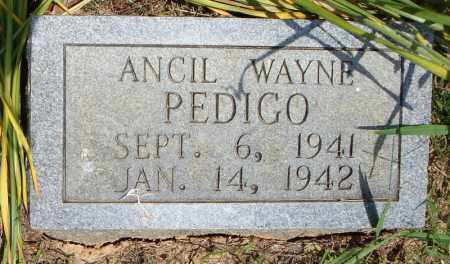 PEDIGO, ANCIL WAYNE - Pulaski County, Arkansas | ANCIL WAYNE PEDIGO - Arkansas Gravestone Photos