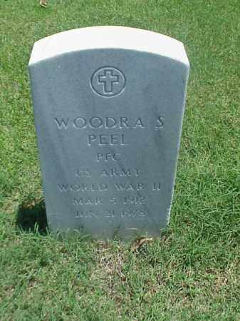 PEEL (VETERAN WWII), WOODRA S - Pulaski County, Arkansas | WOODRA S PEEL (VETERAN WWII) - Arkansas Gravestone Photos