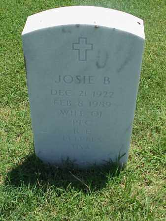 PEEPLES, JOSIE B - Pulaski County, Arkansas | JOSIE B PEEPLES - Arkansas Gravestone Photos