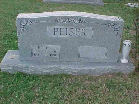 PEISER, ROBERT - Pulaski County, Arkansas   ROBERT PEISER - Arkansas Gravestone Photos