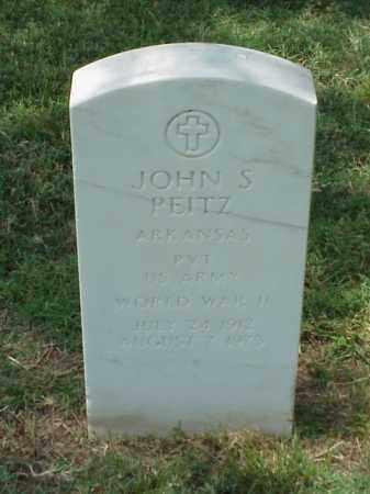 PEITZ (VETERAN WWII), JOHN S - Pulaski County, Arkansas | JOHN S PEITZ (VETERAN WWII) - Arkansas Gravestone Photos