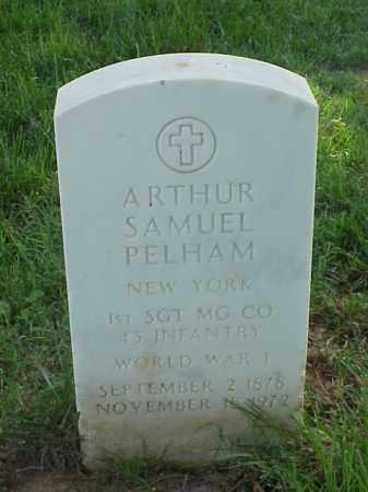 PELHAM (VETERAN WWI), ARTHUR SAMUEL - Pulaski County, Arkansas | ARTHUR SAMUEL PELHAM (VETERAN WWI) - Arkansas Gravestone Photos