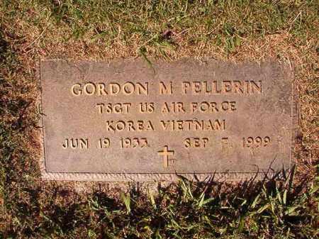 PELLERIN (VETERAN), GORDON M - Pulaski County, Arkansas | GORDON M PELLERIN (VETERAN) - Arkansas Gravestone Photos
