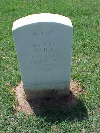 PEMBERTON, SARA - Pulaski County, Arkansas | SARA PEMBERTON - Arkansas Gravestone Photos