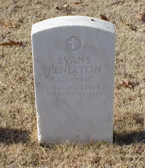 PENELTON (VETERAN WWI), EVANS - Pulaski County, Arkansas | EVANS PENELTON (VETERAN WWI) - Arkansas Gravestone Photos