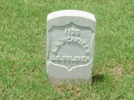 PENFIELD (VETERAN UNION), A H - Pulaski County, Arkansas | A H PENFIELD (VETERAN UNION) - Arkansas Gravestone Photos