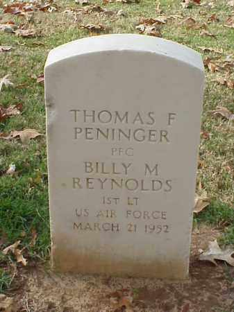REYNOLDS (VETERAN KOR), BILLY M - Pulaski County, Arkansas | BILLY M REYNOLDS (VETERAN KOR) - Arkansas Gravestone Photos