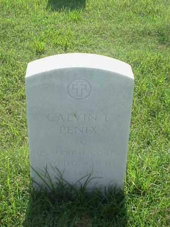 PENIX (VETERAN WWII), CALVIN L - Pulaski County, Arkansas | CALVIN L PENIX (VETERAN WWII) - Arkansas Gravestone Photos