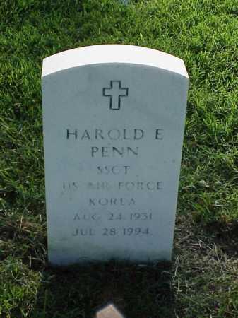 PENN (VETERAN KOR), HAROLD E - Pulaski County, Arkansas | HAROLD E PENN (VETERAN KOR) - Arkansas Gravestone Photos