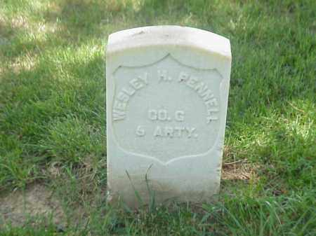 PENNELL (VETERAN UNION), WESLEY H - Pulaski County, Arkansas | WESLEY H PENNELL (VETERAN UNION) - Arkansas Gravestone Photos