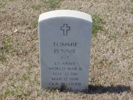 PENNIE (VETERAN WWII), TOMMIE - Pulaski County, Arkansas | TOMMIE PENNIE (VETERAN WWII) - Arkansas Gravestone Photos