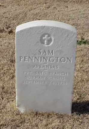 PENNINGTON (VETERAN WWI), SAM - Pulaski County, Arkansas | SAM PENNINGTON (VETERAN WWI) - Arkansas Gravestone Photos