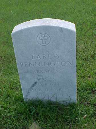 PENNINGTON (VETERAN WWII), EARL S - Pulaski County, Arkansas | EARL S PENNINGTON (VETERAN WWII) - Arkansas Gravestone Photos
