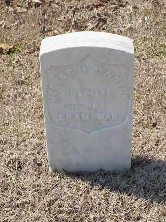 PENNOCK (VETERAN SAW), GEORGE H - Pulaski County, Arkansas | GEORGE H PENNOCK (VETERAN SAW) - Arkansas Gravestone Photos