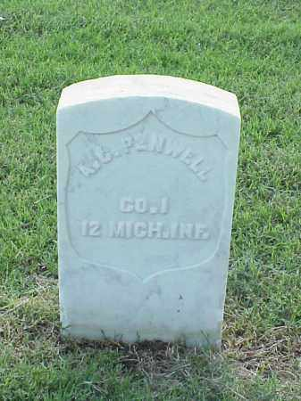 PENWELL (VETERAN UNION), A C - Pulaski County, Arkansas | A C PENWELL (VETERAN UNION) - Arkansas Gravestone Photos