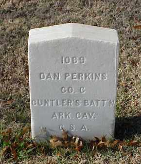 PERKINS (VETERAN CSA), DAN - Pulaski County, Arkansas | DAN PERKINS (VETERAN CSA) - Arkansas Gravestone Photos