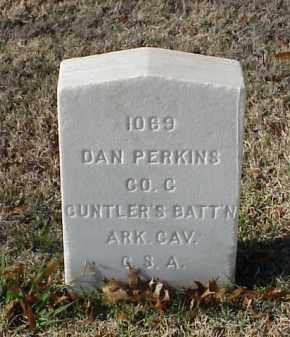 PERKINS (VETERAN CSA), DAN - Pulaski County, Arkansas | DAN PERKINS (VETERAN CSA) - Arkansas Gravestone Photos