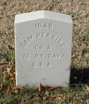 PERKINS (VETERAN CSA), SAM - Pulaski County, Arkansas | SAM PERKINS (VETERAN CSA) - Arkansas Gravestone Photos