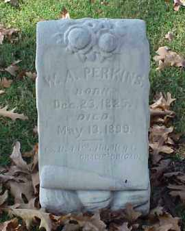 PERKINS (VETERAN CSA), W A - Pulaski County, Arkansas | W A PERKINS (VETERAN CSA) - Arkansas Gravestone Photos