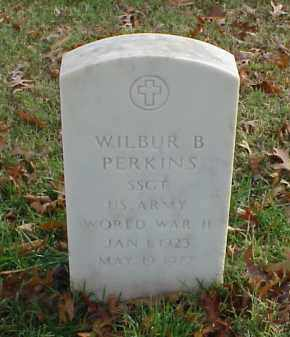 PERKINS (VETERAN WWII), WILBUR B - Pulaski County, Arkansas | WILBUR B PERKINS (VETERAN WWII) - Arkansas Gravestone Photos