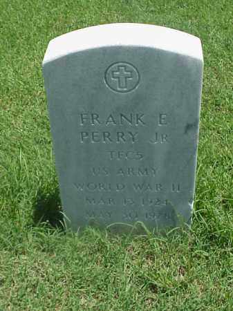 PERRY, JR (VETERAN WWII), FRANK E - Pulaski County, Arkansas | FRANK E PERRY, JR (VETERAN WWII) - Arkansas Gravestone Photos