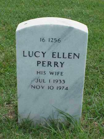 PERRY, LUCY ELLEN - Pulaski County, Arkansas | LUCY ELLEN PERRY - Arkansas Gravestone Photos